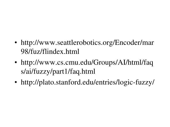 http://www.seattlerobotics.org/Encoder/mar98/fuz/flindex.html