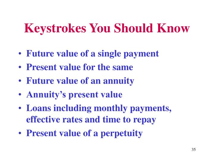 Keystrokes You Should Know