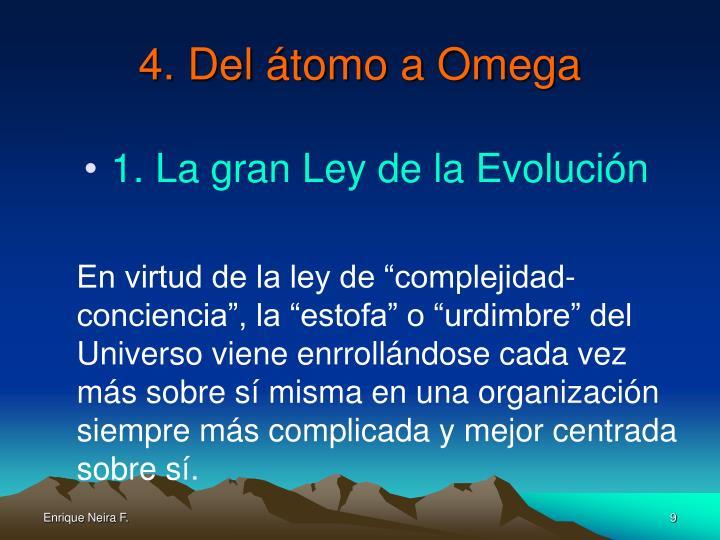 4. Del átomo a Omega