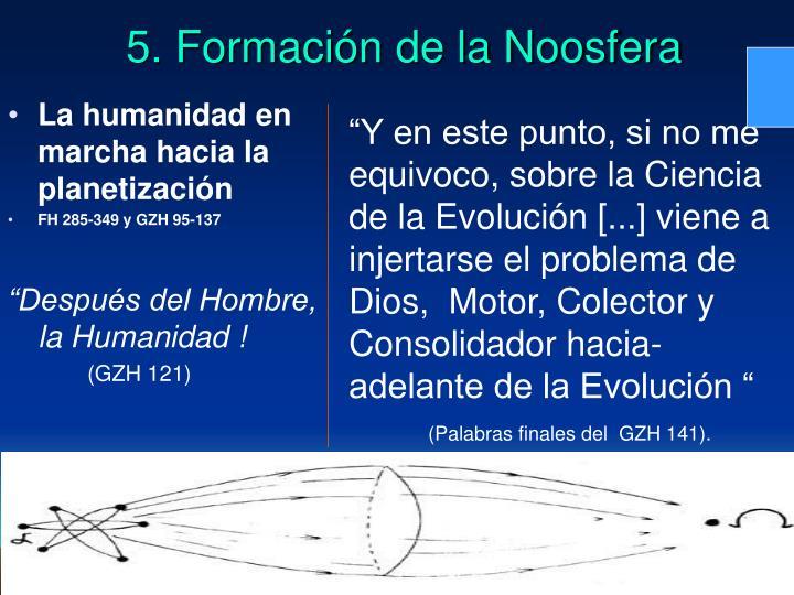 La humanidad en marcha hacia la planetización