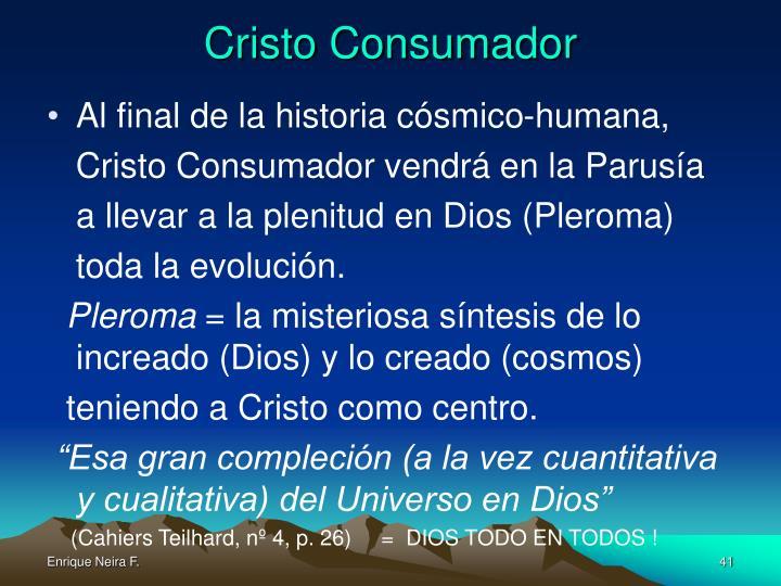 Cristo Consumador