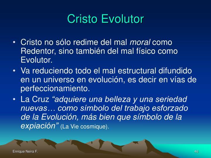 Cristo Evolutor