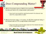 does compounding matter