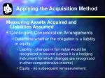 applying the acquisition method4