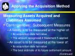 applying the acquisition method7