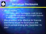 derivatives disclosures1