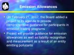 emission allowances1