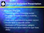 financial statement presentation1