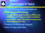 organization of topics1