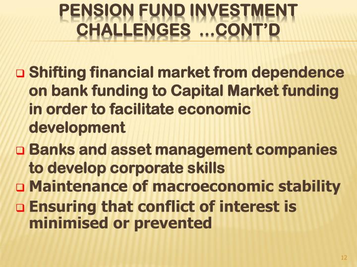 Shifting financial market from dependence on bank funding to Capital Market funding in order to facilitate economic development