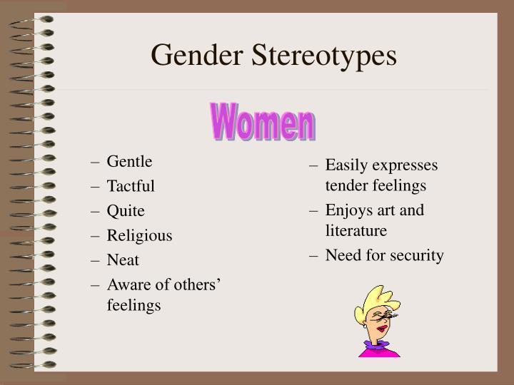 Gender stereotypes1
