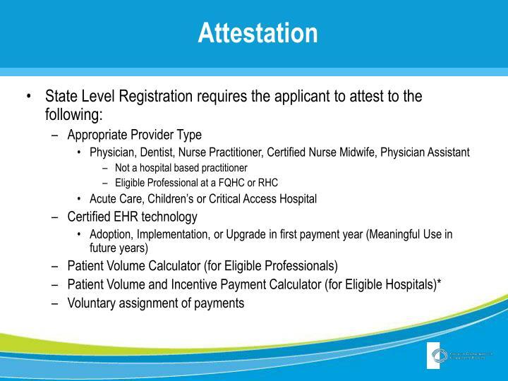 PPT - Georgia Medicaid EHR Incentive Program: Attestations ...