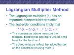 lagrangian multiplier method4
