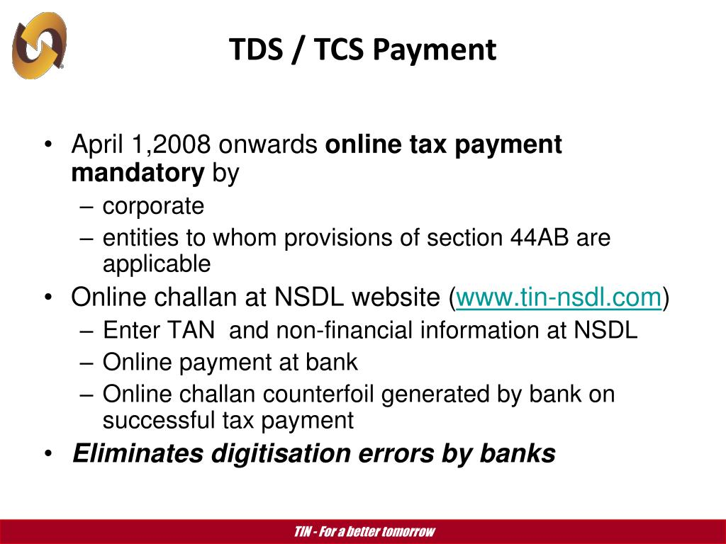 PPT - TAX INFORMATION NETWORK (TIN) PowerPoint Presentation