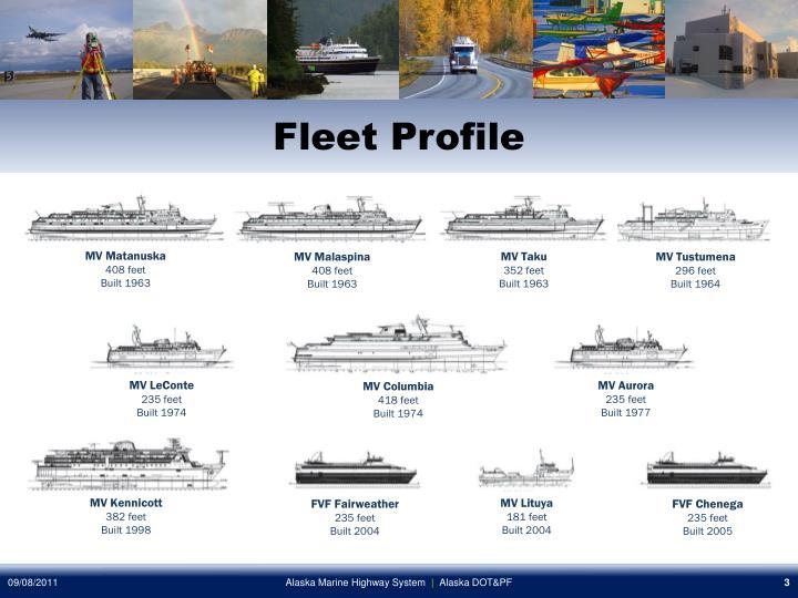Fleet profile