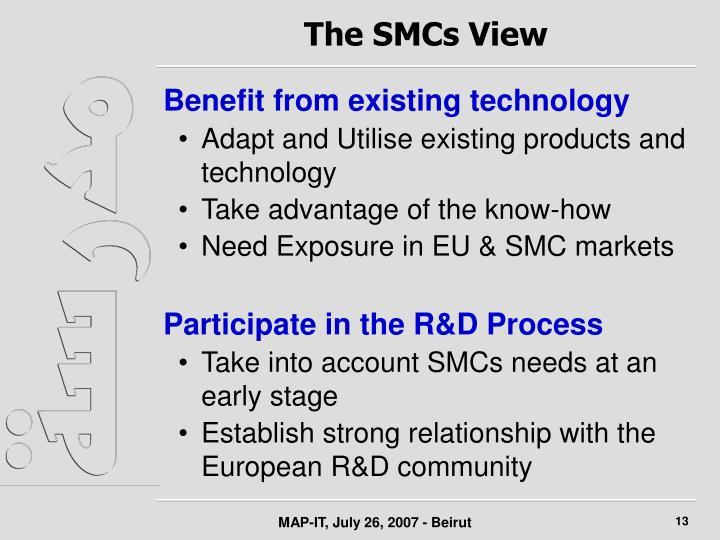 The SMCs View