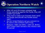 operation northern watch