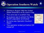 operation southern watch