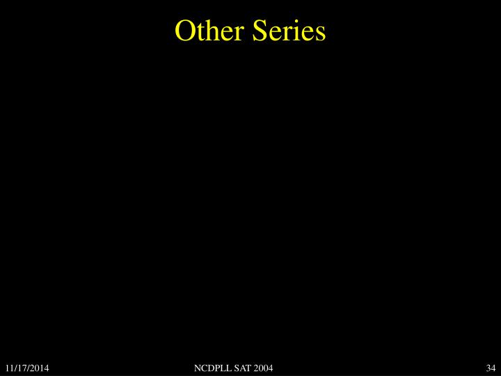 Other Series