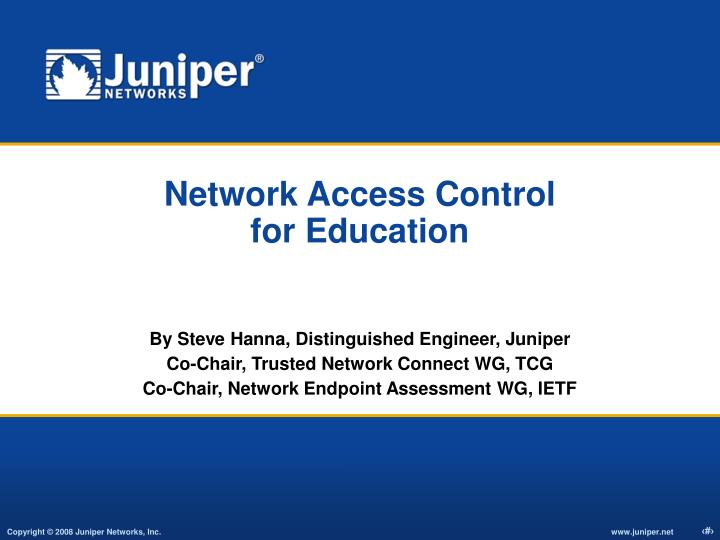 network access control for education n.