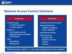 network access control solutions