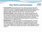key terms and acronyms1