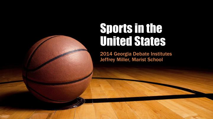 sports in the united states n.