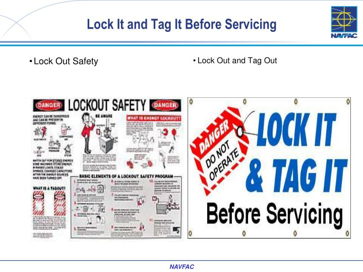 Lock Out Safety