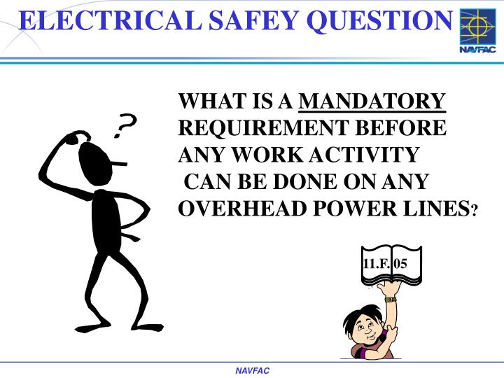ELECTRICAL SAFEY QUESTION