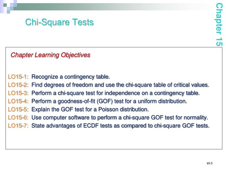 Chi square tests1