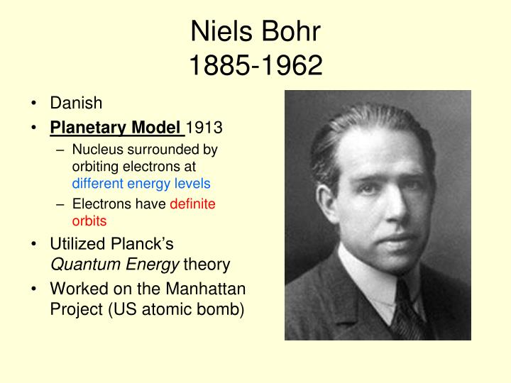 Niels Bohr