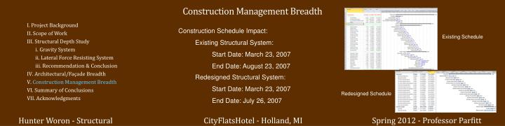 Construction Management Breadth