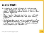 capital flight