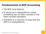fundamentals of bop accounting