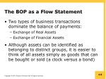 the bop as a flow statement1