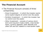 the financial account1