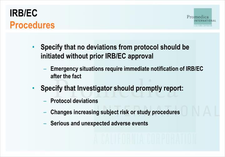 IRB/EC