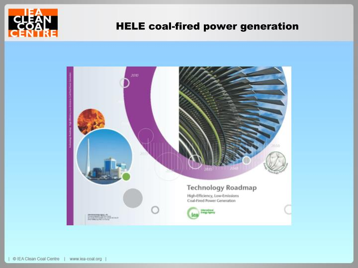 HELE coal-fired power generation
