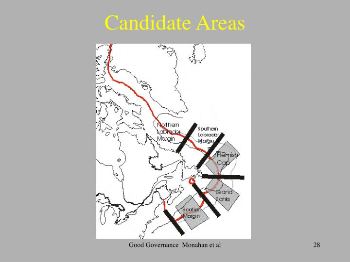 Candidate Areas