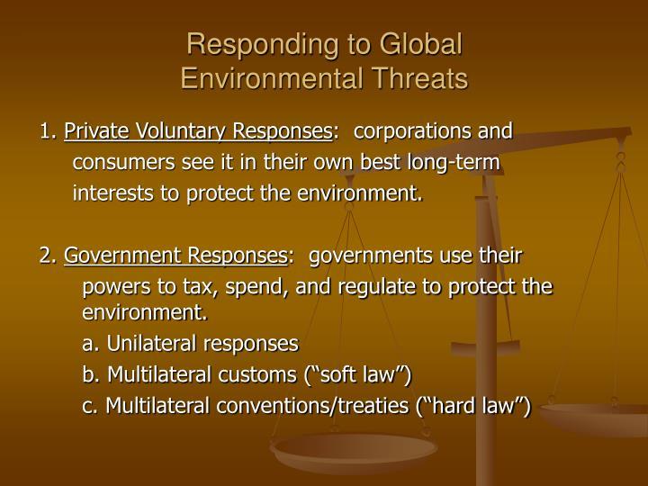 Responding to Global