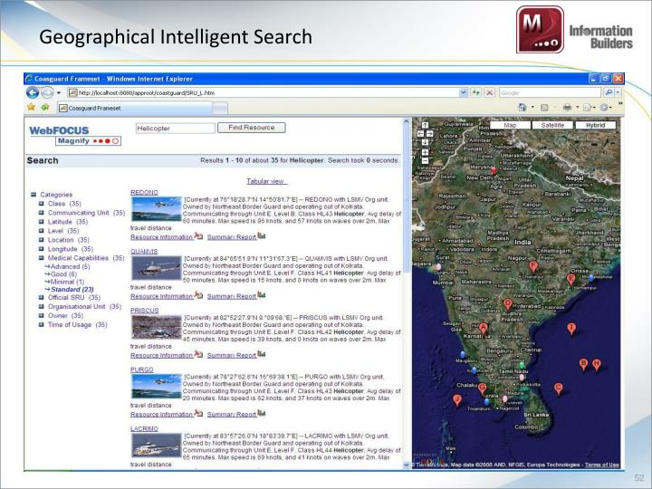 Geographical Intelligent Search