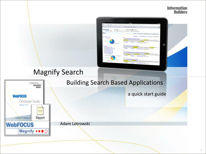 Magnify search