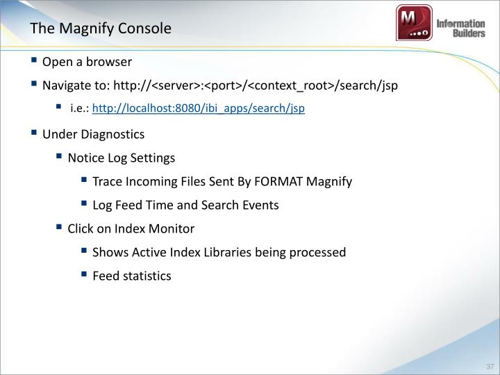 The Magnify Console