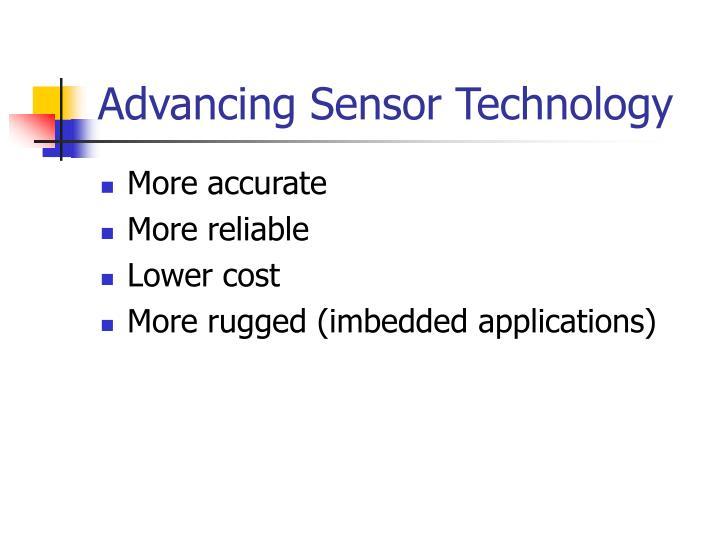 Advancing Sensor Technology