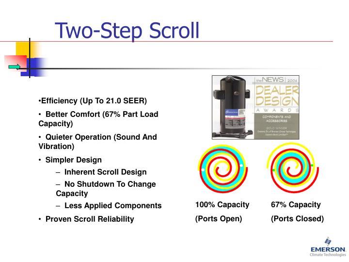 Two-Step Scroll