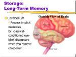 storage long term memory4