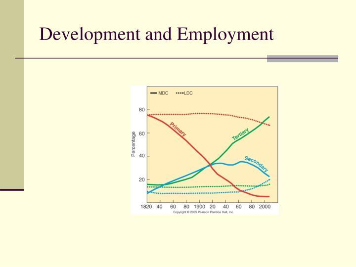 Development and Employment