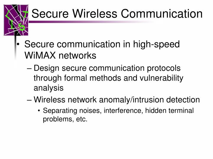 Secure Wireless Communication