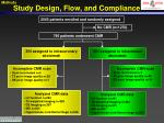 study design flow and compliance1