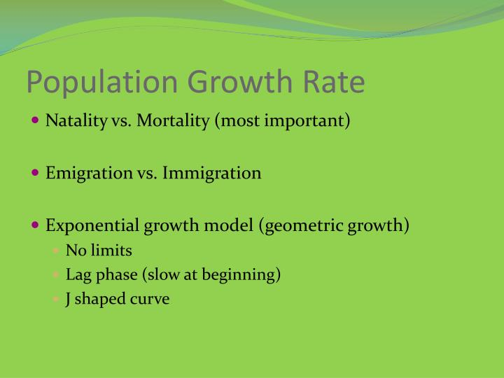 Population Growth Rate